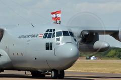 Austrian Air Force Lockheed C-130K Hercules 8T-CA (James L Taylor) Tags: raf100 celbration royal international air tattoo 2018 riat18 austrian force lockheed c130k hercules 8tca arrivals12th2 889 arrivals day 12th july