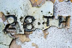 Macro Mondays Decay (Harry McGregor) Tags: macro texture patina macromondays decay peeling weathered oldgravestone cemetry harrymcgregor nikon d3300 4 august 2018 28th date numbers flaking