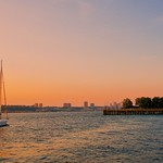 Hudson Sunset - New York City thumbnail