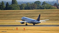 Skyteam Airfrance F-GKXS J78A0137 (M0JRA) Tags: skyteam airfrance fgkxs aircraft planes flying light clouds sky fields grass runways airports jets birmingham