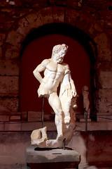 Hercules (Ella Ca) Tags: ancient roman museum side hercules sculpture statueofhercules asiaminor ancientart heracles