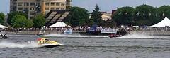 Ken Racing (genesee_metcalfs) Tags: boat racing river baycity husband