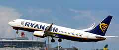 EI-DCO RYANAIR BOEING 737 NEWCASTLE (toowoomba surfer) Tags: aircraft jet aeroplane airline airliner aviation ncl