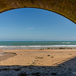 Beach, sea and arch. thumbnail