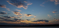 big sky (scott1346) Tags: sky blue clouds glowing sunset beauty summer riverconcert 1001nights gold red amber 1001nightsmagiccity thegalaxy canont3i