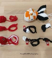 IMG_20180721_121001_659 (Mingle Doll 鳴娃娃) Tags: crochet crochetgoldfish crochetfish amigurumi amigurumidoll crochetamigurumi oranda orandagoldfish fancygoldfish 金魚 かぎ針編み金魚