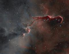 IC1396A - Elephant's Trunk Nebula (Peter Goodhew) Tags: elephants trunk nebula elephantstrunk cepheus ic1396 ic1396a astrometrydotnet:id=nova2682914 astrometrydotnet:status=solved