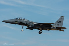 USAF, McDonnell Douglas F-15E Strike Eagle (91-0306/LN), 492nd FS/48th FW (mattmckie98) Tags: aircraft aviation airforce raf lakenheath usaf us military fighter jet f15 nikon