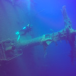 Mast of the wreck of the Zenobia, Cyprus thumbnail