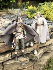 Why are you here, Rey from nowhere? (KyloFran) Tags: luke skywalker starwars rey