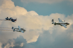 Red Bull Flypast (aquanout) Tags: aeroplanes aeroplane plane airshow