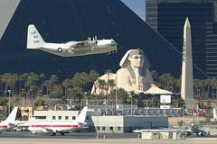 16-5161, Las Vegas McCarran, February 28th 2004 (Southsea_Matt) Tags: 165161 ru5161 unitedstatesnavy usn lockheed c130t hercules unitedstatesofamerica usa las klas lasvegas mccarran nevada canon 10d february 2004 winter aviation aircaft airport transport