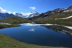 lac des Autannes (bulbocode909) Tags: valais suisse moiry grimentz valdanniviers lacdesautannes lacs montagnes nature paysages nuages glaciers glacierdemoiry névés neige vert bleu reflets eau groupenuagesetciel