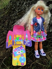 Polly Pocket Stacie (flores272) Tags: pollypocketstacie pollypocket stacie barbie barbiedoll outdoors doll dolls toy toys