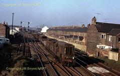 T106 29 Hartburn Junction D3141 on Stockton North Yard to Stockton Goods Yard freight 1041965 (Ernies Railway Archive) Tags: ner lner stocktonhartburnjunction