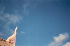 (Benedetta Falugi) Tags: yoga yogapose film filmisnotdead filmphotography fujisuperia400 filmcamera film35mm onfilm leg wwwbenedettafalugicom woman minimal minimalism shootingfilm sky believeinfilm benedetafalugi blue pink foot clouds rock analogphotography analog analogic air yogashooting shooting istillshootfilm ishootfilm womeninphotography sheshootsfilm bythesea beauty