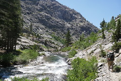 S. Fork San Joaquin River (GetBusyHiking) Tags: joaquin hike hiking jmt muir