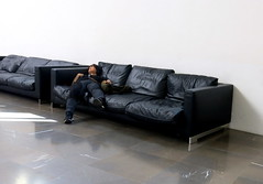 Bologna (loungerie) Tags: bologna sola divano relax rest sleep sleeping museum tired sofa couch unsuspecting stranger