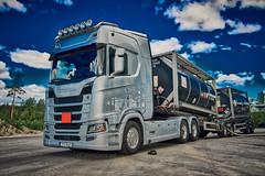 Frakttjänst X (johan.bergenstrahle) Tags: 2018 finepicsse fordon frakttjänst hdr june juni lastbil scania sommar summer sverige sweden truck umeå vehicle