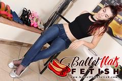 1 (balletflatslovers) Tags: balletflats shoeplay feet