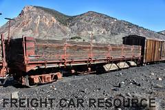 DRGW drop bottom gon (Freight Car Resource) Tags: denverriograndewestern riogrande narrowgauge freightcar 3footgauge drgw drg denverriogrande train railroad railway dropbottomgondola gondola