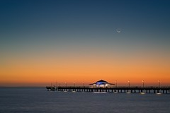 Before sunrise at Shorncliffe (noompty) Tags: shorncliffe jetty dawn moretonbay queensland silhouette pentax k1 zeiss carlzeiss zk on1pics photoraw2018 makroplanart2100