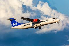 G-FBXE ATR 72-600 (72-212A) SAS Scandinavian Airlines (Andreas Eriksson - VstPic) Tags: scandinavian1764 riga gfbxe atr 72600 72212a sas scandinavian airlines