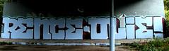 graffiti in Amsterdam (wojofoto) Tags: amsterdam nederland holland netherland graffiti streetart wojofoto wolfgangjosten amsterdamsebrug flevopark hof halloffame olie rence