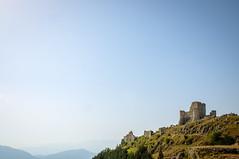 Rocca Calascio (johnnybrasc0) Tags: rocca calascio chiesa santa maria pietà church landscapes mountain nature fortress abruzzo italy