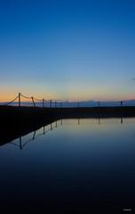 Gradients of Blue (Danielle Bea Photography) Tags: sunrise blue gradient water ocean sky landscape photography canon sydney beach australia cronulla rockpool sea dusk bay colour calm lines
