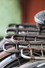 Carry this (A Different Perspective) Tags: bali bicycle carrier old rust shed spring