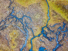 Wetland patterns on Rannoch Moor (Joe Dunckley) Tags: britain british corrour greatbritain highland highlands lochaber rannochmoor scotland scottish scottishhighlands uk unitedkingdom westhighlands aerialview birdseyeview bog droneshot fromabove landscape moor moorland nature outdoors peatbog river water wetland wilderness