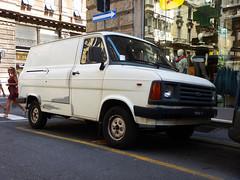 Ford Transit (1985) (maximilian91) Tags: fordtransit ford transit oldvans vintagevans germanvans italia italy liguria genova genoa