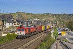 Crossrail DE6314, Oberwesel (D) (VinceCargo) Tags: oberwesel rheinlandpfalz duitsland de