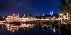 Liberty Belle evening (fractal pics) Tags: waltdisneyworld disney disneyworld magickingdom libertybelle disneyphotography