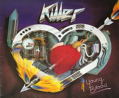 KILLER YOUNG BLOOD SCRATCH RECORDS (vinylmeister) Tags: vinylrecords albumcoverphotos gramophone lp heavymetal thrashmetal deathmetal blackmetal vinyl schallplatte disque album