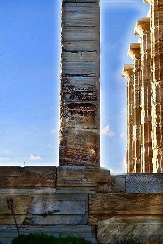 Temple of Poseidon, Cape Sunion, Attica, Greece