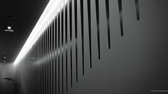 SciFi? (frankdorgathen) Tags: alpha6000 sony monochrome blackandwhite schwarzweiss schwarzweis minimalismus minimalistic minimalism abstrakt abstract gebäude building garage parkinggarage belgien belgium brussels brüssel indoor