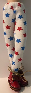Red Blue And Stars Tights...For Blythe...