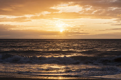 Sunset at Penbryn Beach (RedPlanetClaire) Tags: cardigan bay wales sea water irish evening sunset penbryn beach ceredigion