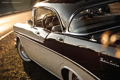 1956 Bel Air Sport Sedan (Dejan Marinkovic Photography) Tags: 1956 chevrolet chevy bel air 4 door sunset classic car
