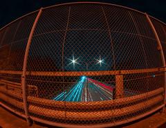 Southwoods Exit 8mm (AllanAnovaPhotos) Tags: samyang 8mm fisheye lens southwoods binan laguna highway cartrails cartrail lighttrails lighttrail longexposure