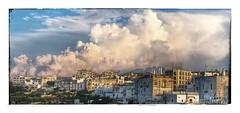 Nuages du soir... (Jean-Louis DUMAS) Tags: italia pouilles italie landscape village nuage paysage storm orage cloudly cloud ciel iphone smartphone