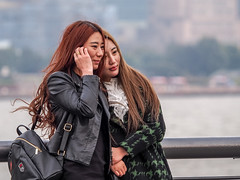 LR Shanghai 2016-779 (hunbille) Tags: china shanghai zhongshanroad road zhongshan promenade huangpu river thebund bund the friends