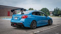 IMG_2366 (PedoJim) Tags: subaru wrx sti varis blue ivy nextmod turbo ej25 wing racecar lachute quebec montreal brembro bakemono track car