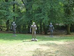 Elisabeth Frink, Riace Figures, 1986-89 (paulineandjohng2008) Tags: yorkshiresculpturepark riacefigures elisabethfrink riace