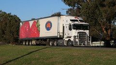 Random WAGGA ~ White (3/7) (Jungle Jack Movements (ferroequinologist)) Tags: scania great southern farms strawberry distributors detour holdings kenworth volvo euro 5 600 kreuger todiam lenssec wagga nsw new south wales sturt hp horsepower big rig haul freight cabover trucker drive transport carry delivery bulk lorry hgv wagon road highway nose semi trailer deliver cargo interstate articulated vehicle load freighter ship move roll motor engine power teamster truck tractor prime mover diesel injected driver cab cabin loud beast wheel exhaust double b grunt white