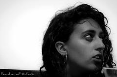Sara - Ritratto - Portrait (frillicca) Tags: 2018 bn bw biancoenero bianconero blackandwhite blackwhite cesenatico festa girl graduate july laurea luglio monochrome monocromo nikkor nikkor18300mmf35 nikon nikond300 portrait ragazza ritratto sara