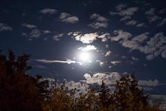 Saturn & Moon / @ 55 mm / 2018-07-24 (astrofreak81) Tags: saturn moon luna mond planet sky night konjunktion light dark clouds 20180724