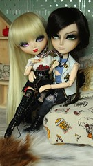 Pinup & Pirate (browniiefamily) Tags: pirate doll pullip melissa taeyang akira de la rose customisation poupée blond pinup browniieco